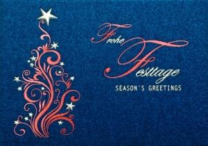 Exklusive weihnachtskarten f r anspruchsvolle firmen for Exklusive weihnachtskarten firmen